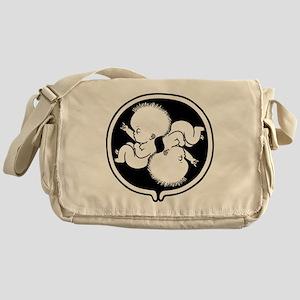 womb-punk2-T Messenger Bag