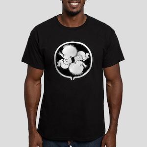 womb-punk2-T Men's Fitted T-Shirt (dark)