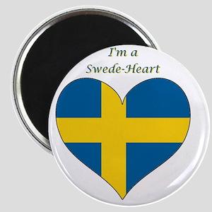 SwedeHeart-sq Magnet