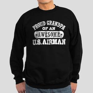Proud Grandpa of an Awesome US Airman Sweatshirt (