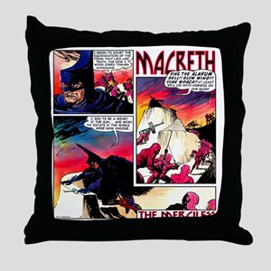 Macbeth_1 Throw Pillow