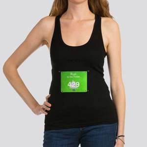 Bib Number Shirt Racerback Tank Top