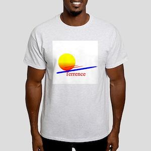 Terrence Ash Grey T-Shirt