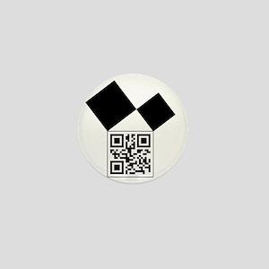 QRcodeEuclidFreemason Mini Button