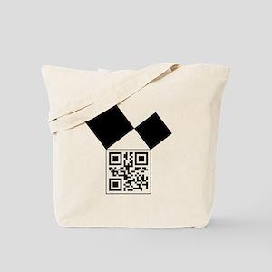 QRcodeEuclidFreemason Tote Bag