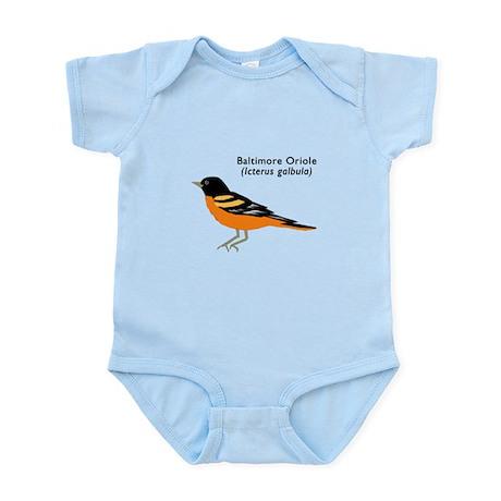 baltimore oriole Infant Bodysuit