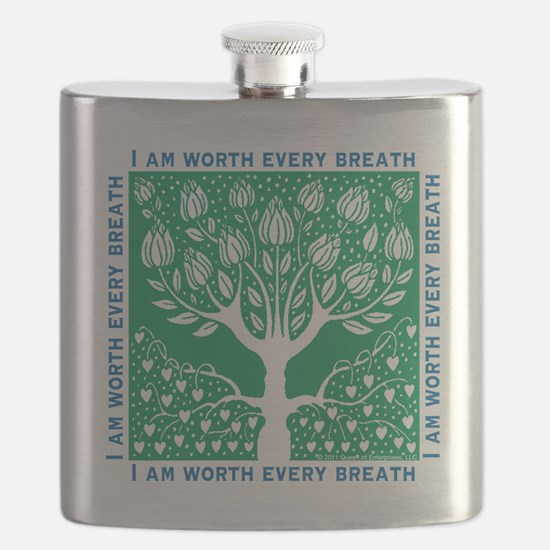Smoking Tree Flask