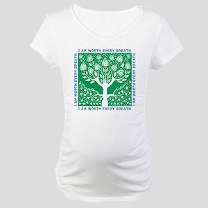 Smoking Tree Maternity T-Shirt