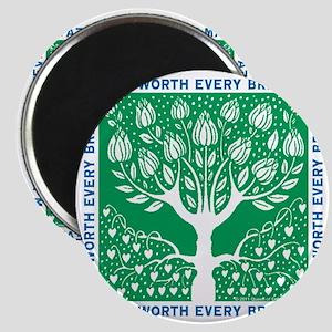 Smoking Tree Magnet