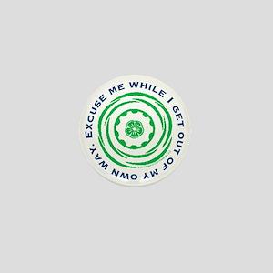 Own Way Mini Button
