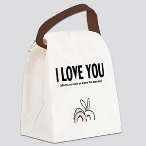 ilu bunny butz Canvas Lunch Bag