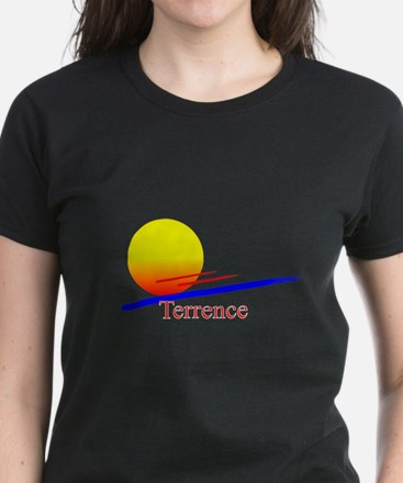 Terrence Women's Dark T-Shirt