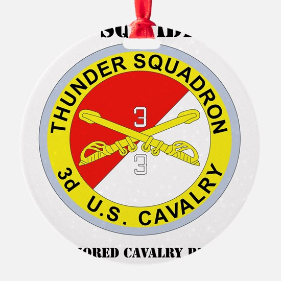 DUI-3-3RD ARMORED CAVALRY REGIMENT  Ornament