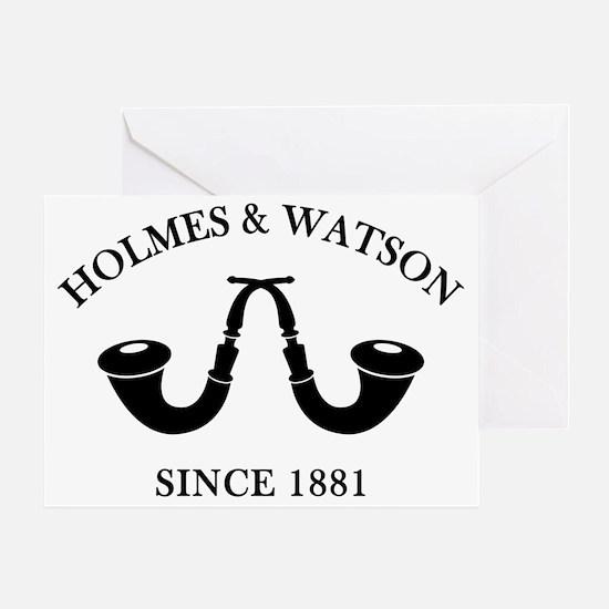 holmeswatsonsince1881 Greeting Card