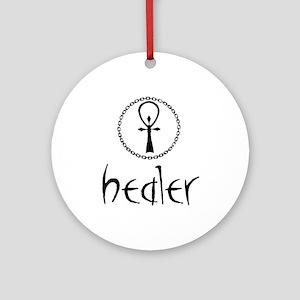 Healer Ornament (Round)