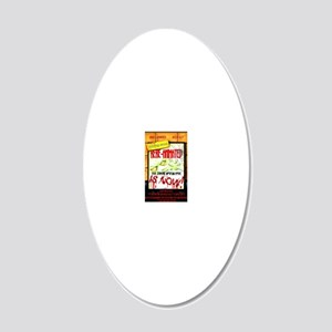 Posterfinal 20x12 Oval Wall Decal