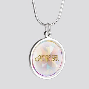 Keep Coming Back Silver Round Necklace