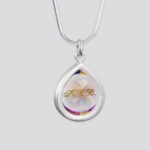 Keep Coming Back Silver Teardrop Necklace