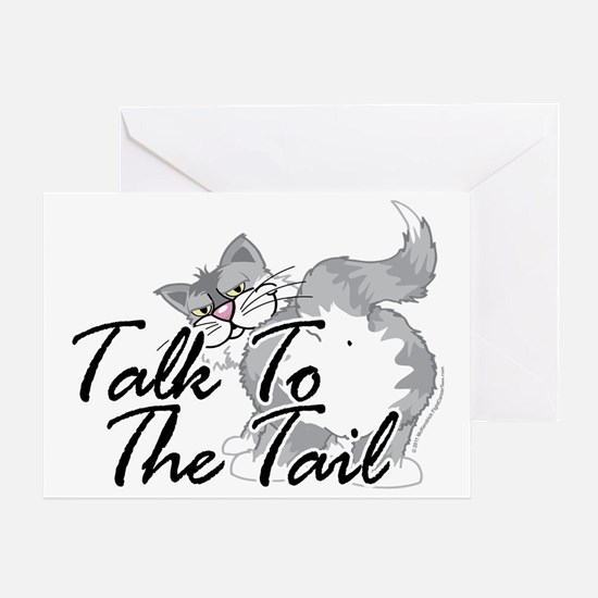 Talk-To-The-Tail-2 Greeting Card