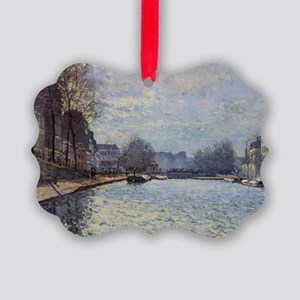 View of the Canal Saint-Martin, P Picture Ornament