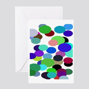 PollOck Colin Balls 78 trans Greeting Card