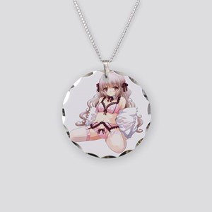 moe38 Necklace Circle Charm