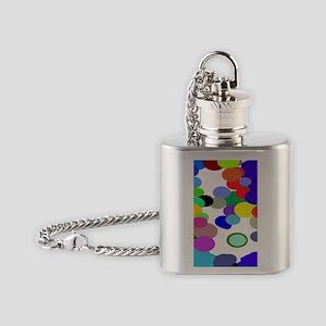 Pollack Colin Colors Trans 73 Flask Necklace