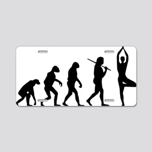 The Evolution Of The Yoga Aluminum License Plate