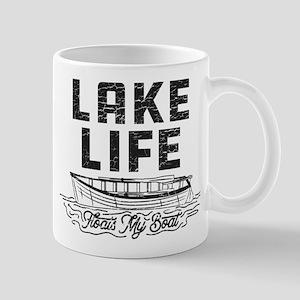 Lake Life Floats My Boat 11 oz Ceramic Mug
