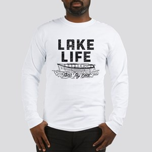 Lake Life Floats My Boat Long Sleeve T-Shirt
