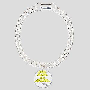 Ukulele Player From Uran Charm Bracelet, One Charm
