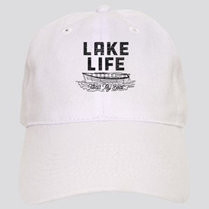 Lake Life Floats My Boat Cap