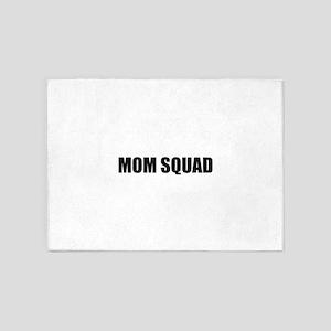 Mom Squad 5'x7'Area Rug