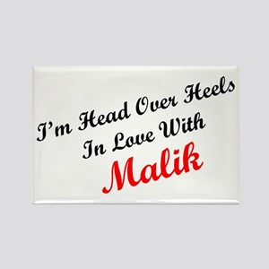 In Love with Malik Rectangle Magnet