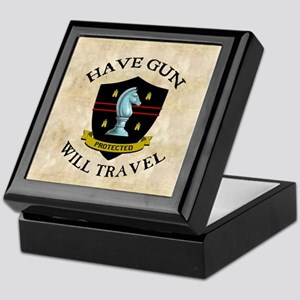 havegun_clock Keepsake Box