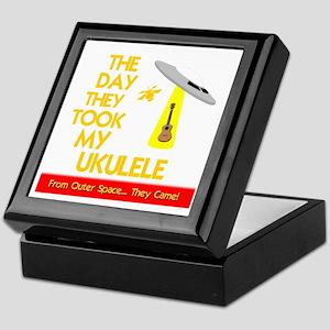 The Day They Took My Ukulele Keepsake Box