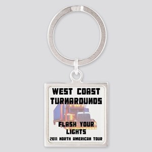 lightTourFr Square Keychain