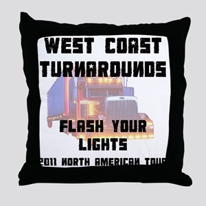lightTourFr Throw Pillow