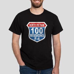 100 Missions F-4 Dark T-Shirt