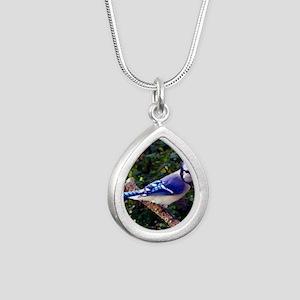 bluejayPil Silver Teardrop Necklace