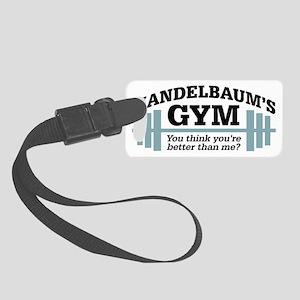 Seinfeld: Mandelbaums Gym Small Luggage Tag