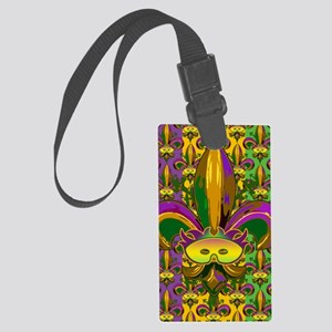 fleurPggMaskFmPat460_ipad Large Luggage Tag