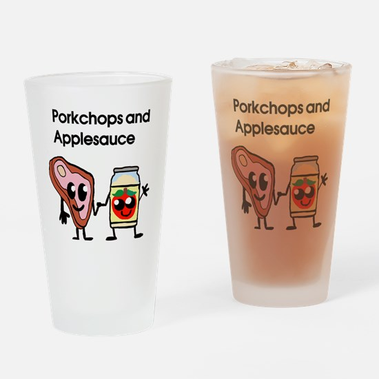 porkchop and applesauce Drinking Glass