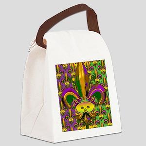 fleurPggMaskFmPat460_ipad Canvas Lunch Bag