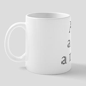 a-car-a-man-a-maraca Mug