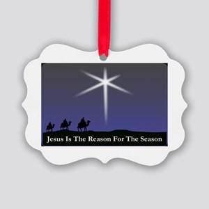Jesus is the reason for the season Christmas dark