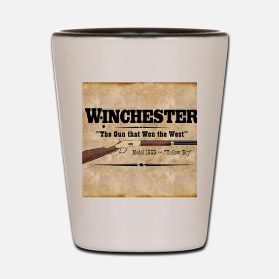 winchester_mouse Shot Glass