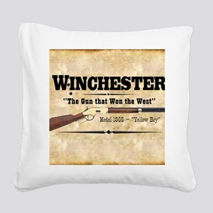 winchester_mouse Square Canvas Pillow