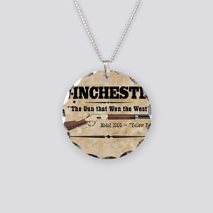 winchester_mouse Necklace Circle Charm