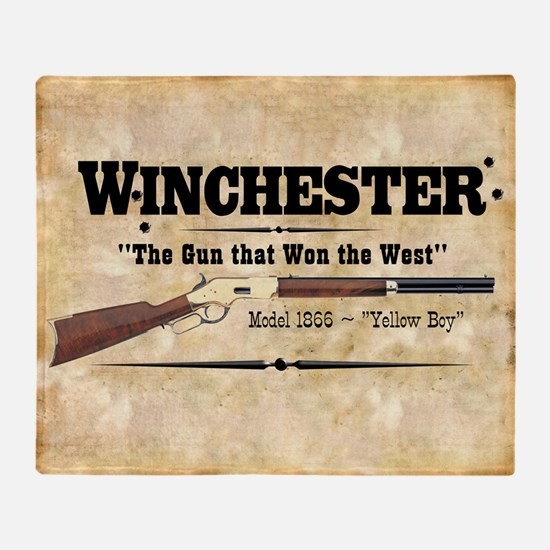 winchester_mouse Throw Blanket